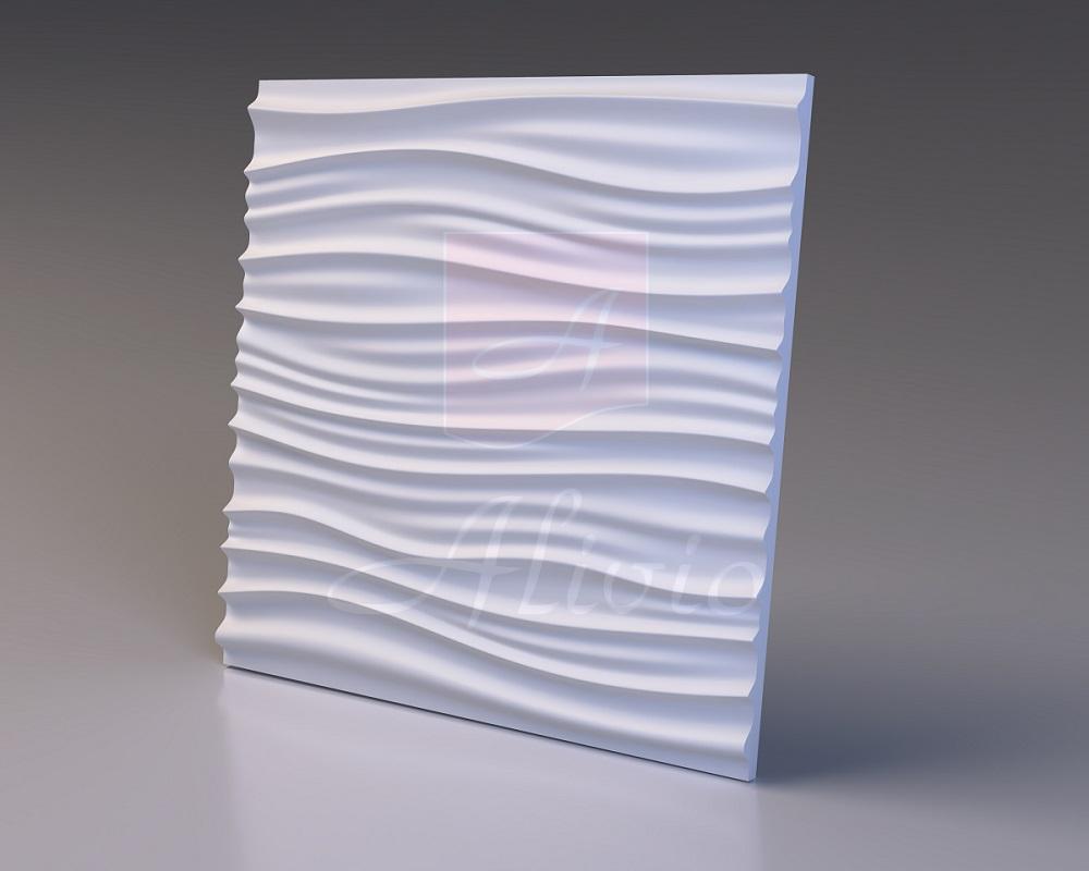 Гипсовые панели Dune - 60х60 см