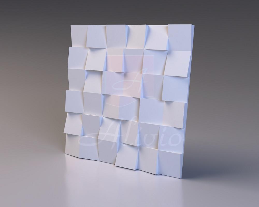 Панели из гипса Pixel - 60х60 см