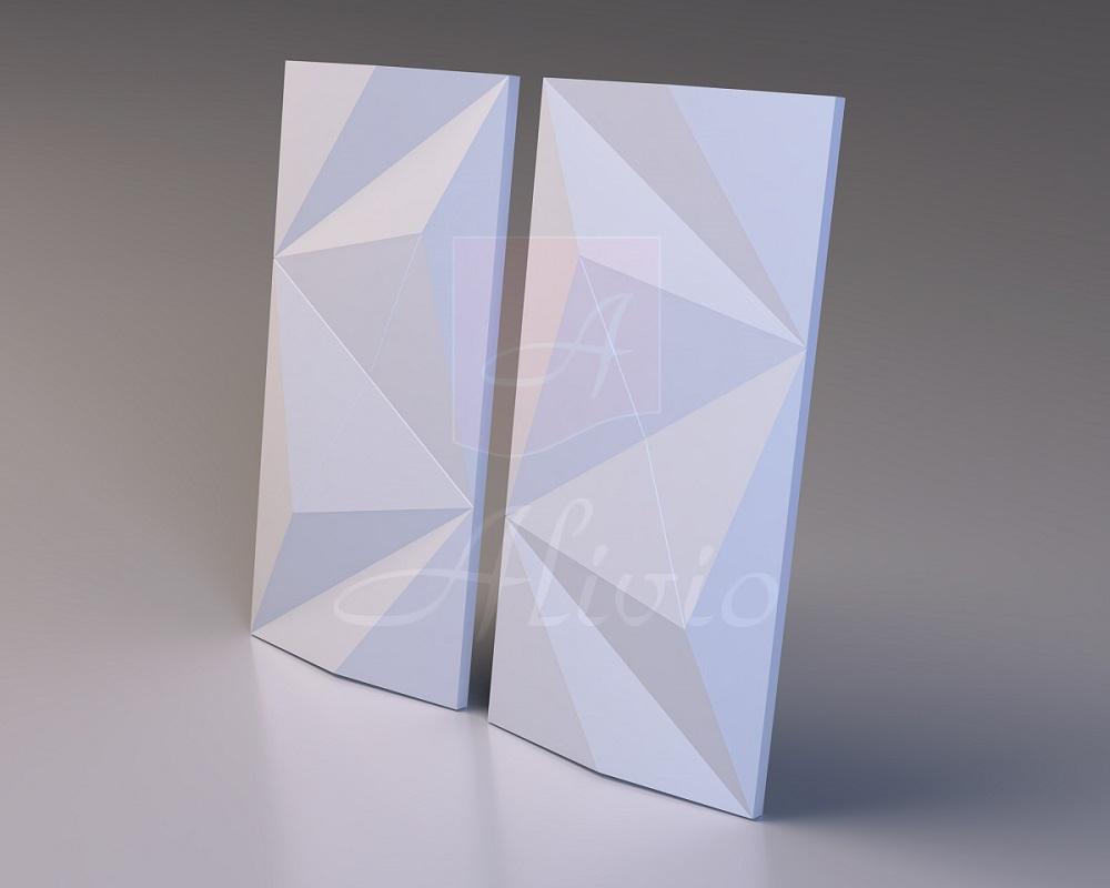 3d панели Polygonal - 60х30 см