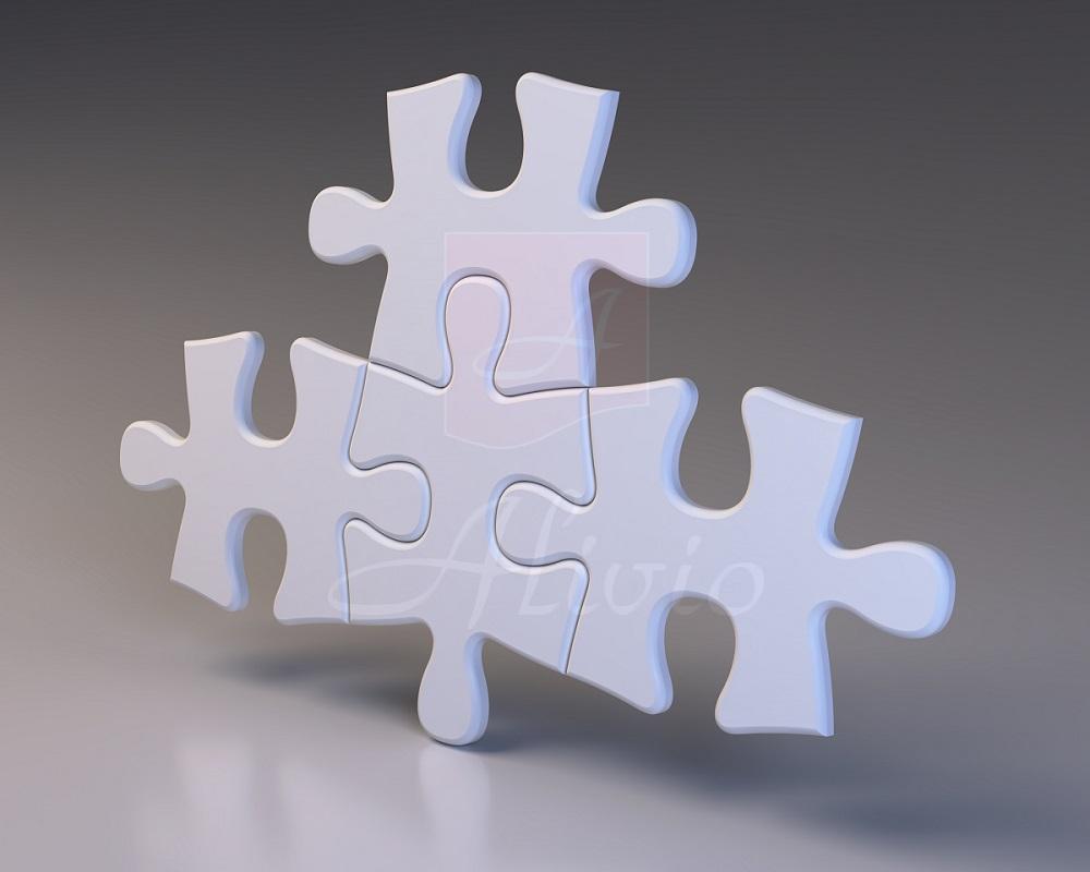 3Д панели Puzzle - 60х40 см