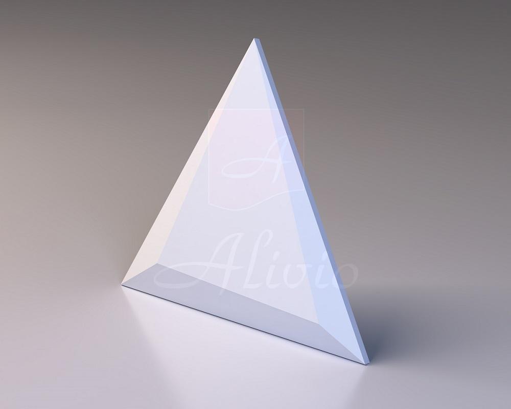 Гипсовые 3Д панели на стену Piramide - 48х48х48 см